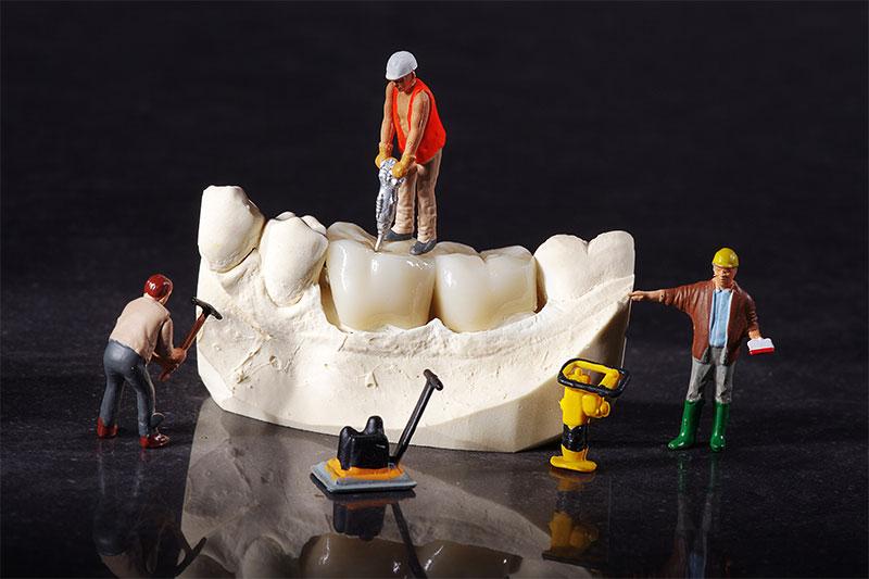 bahnbaustelle unterschleissheim muenchen zahnarzt - Zahnersatz